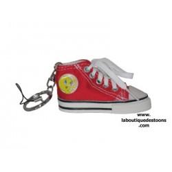 Porte clés Titi basket Rouge