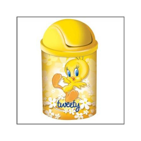 Mini corbeille Titi Forever jaune