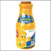 Botella de leche del desayuno de Titi
