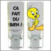 Mini glass Tweety