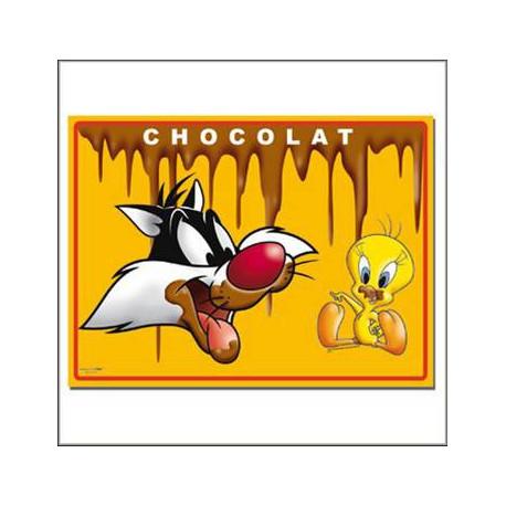 2 sets de table Titi Chocolat