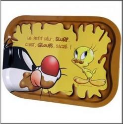Plank metaal Titi chocolade