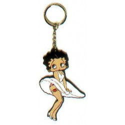 Betty Boop koele bries 2D sleutelhanger
