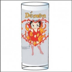 Verre Betty Boop Démon