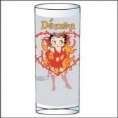 Glas-Betty Boop-Demon