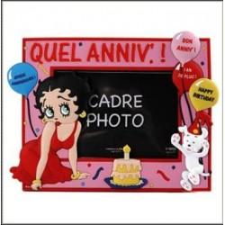 Cadre photo Betty Boop Anniversaire