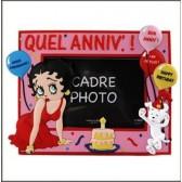 Marco de fotos de Betty Boop Anniversaire