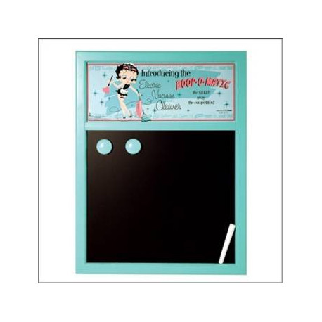 Tableau ardoise magnétique Betty Boop Cleaner