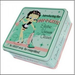 Box metal Betty Boop Cleaner