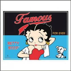 2 sets van tabel Betty Boop beroemde