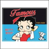 2 sets of table Betty Boop Famous