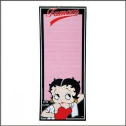 Pense bête magnétique Betty Boop