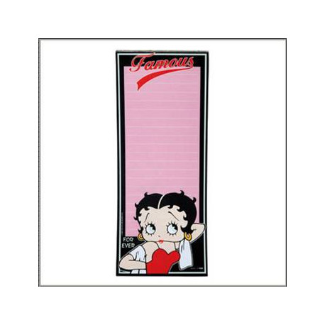 pense b te magn tique betty boop. Black Bedroom Furniture Sets. Home Design Ideas