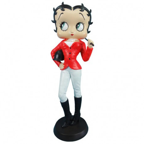 Statuetta Betty Boop Jockey
