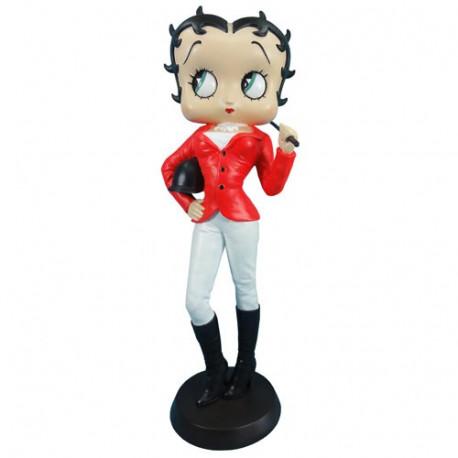 Statuette Betty Boop Jockey