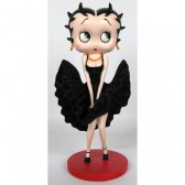 Statuetta Betty Boop Cool Breeze - vestito nero
