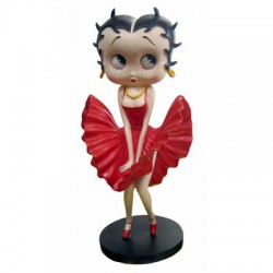Statuette Betty Boop Cool Breeze 2012 - Robe rouge