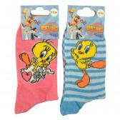 2 paires de chaussettes Titi