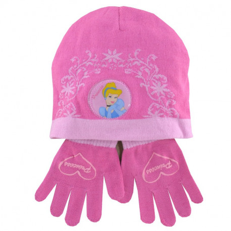 Todos los sombrero y guantes fucsia princesa