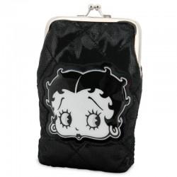 Porte monnaie Betty Boop noir grand modèle