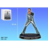 Figura Johnny Hallyday plata con 43 CM