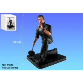 Figurine Johnny Hallyday Chanteur 32 CM