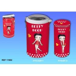 extraíble de 2 latas tubo de Betty Boop