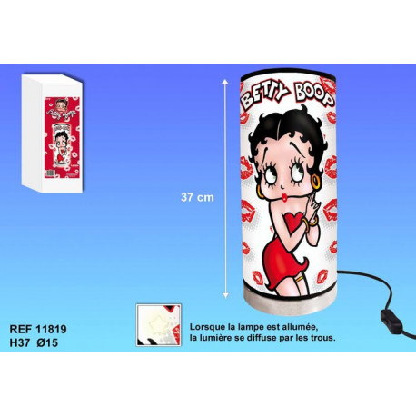 Lamp tube Betty Boop Kiss