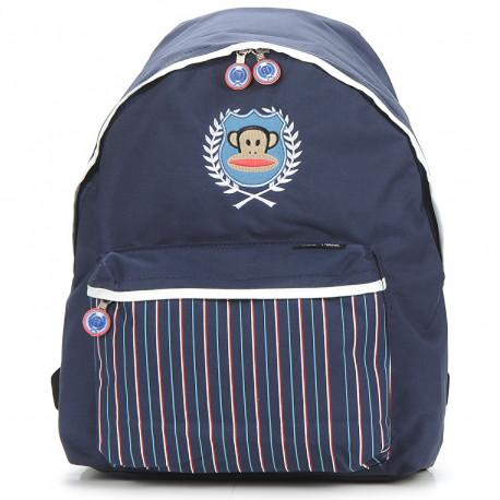 Mochila escolar Paul Frank azul 40 CM