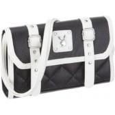 Bolso de blanco y negro de Playboy