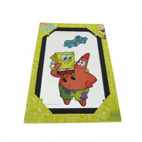 Spiegel SpongeBob en Patrick