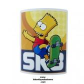 Coperta in pile Bart Skate