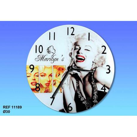 Clock Marilyn Monroe starlet