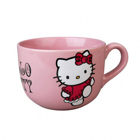 Cup jumbo Hello Kitty pink
