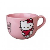 Tasse jumbo Hello Kitty rose
