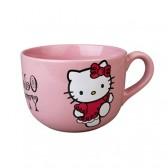 Taza jumbo rosa Hello Kitty