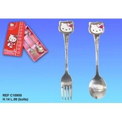 Caja de cubiertos Hello Kitty