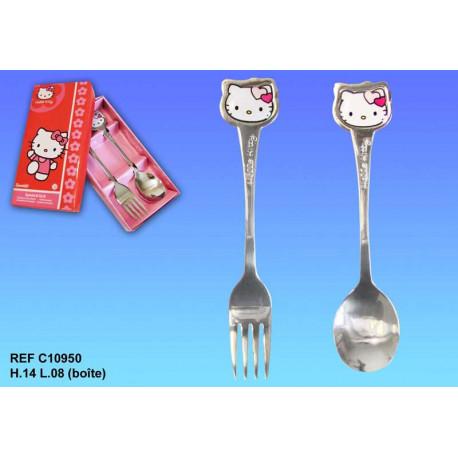 Coffret couverts Hello Kitty