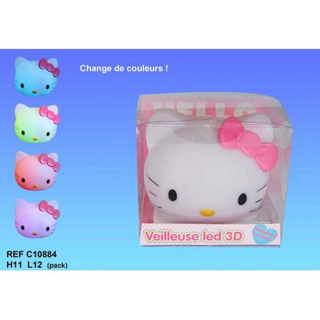 Lampe led veilleuse Hello Kitty