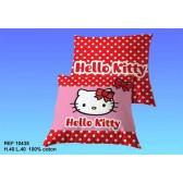 Cuscino Hello Kitty piselli