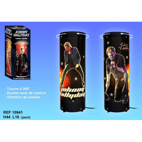 Lampe tournante Johnny Hallyday Concert