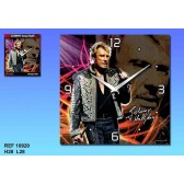 Pendulum canvas Johnny Hallyday Legend