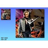 Pendulum canvas Johnny Hallyday Legend