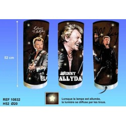 Lámpara gigante Johnny Hallyday Chanteur