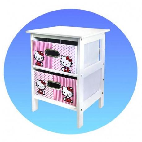 Meuble de rangement Hello Kitty