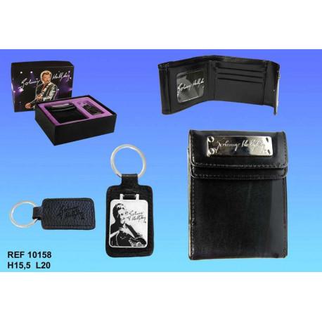 Gift Johnny Hallyday portfolio singer