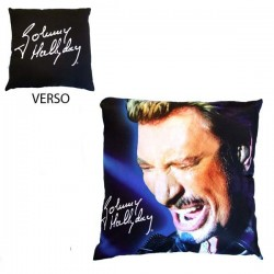 Cushion Johnny Hallyday singer