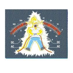 Plaid Polaire Homer Electrocuté