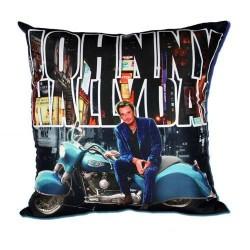 Coussin Johnny Hallyday Moto