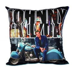 Johnny Hallyday motorcycle cushion